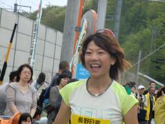 ハーフマラソン Qちゃんアップ.JPG